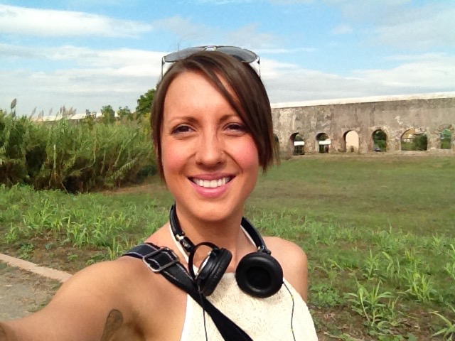 The Appia Antica Ruins behind me