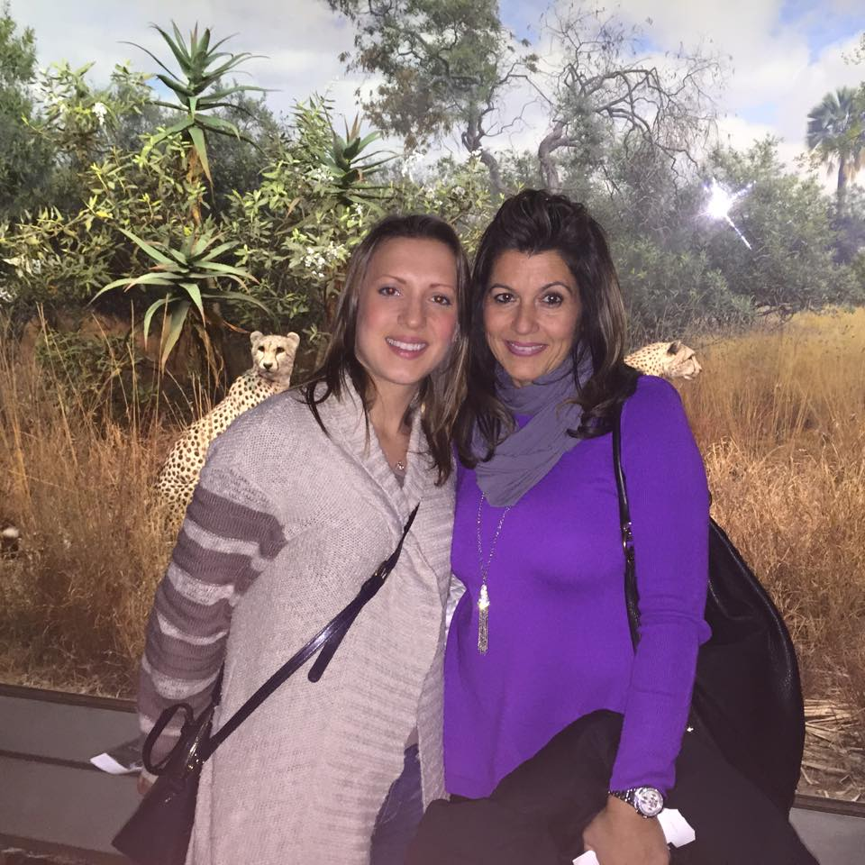 with Maria at the Museum of Natural History