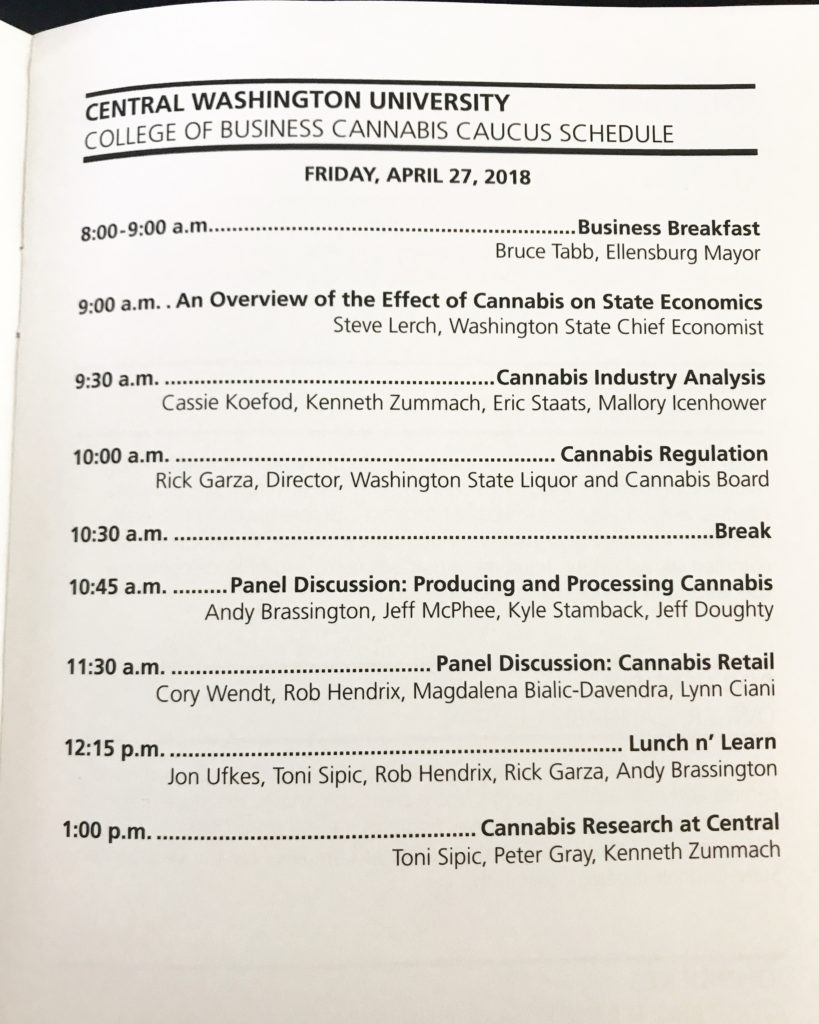 Cannabis Caucus at Central